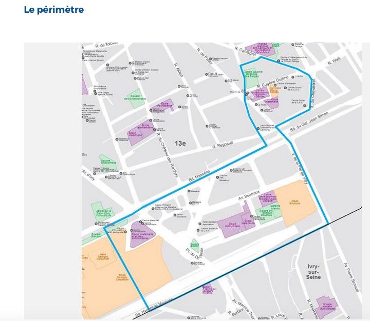 Capture d'écran 2016-06-30 à 18.38.14Périmètre quartier Bédier-Oudiné
