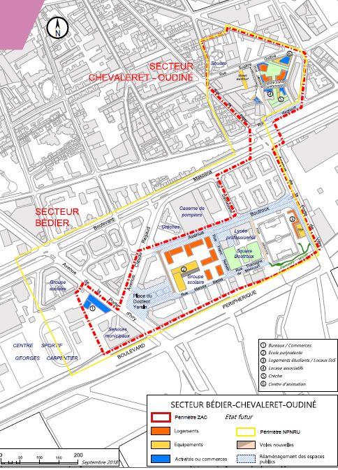 calendrier aménagement Bédier-Oudiné-2
